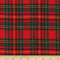 Windstar Tartan Stewart Twill Flannel Red