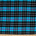 Windstar Twill Flannel Plaid Teal/Black/Fuchsia