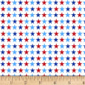 America: Land Of The Free Small Stars White