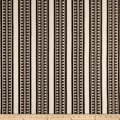 Laura & Kiran Outwest Stripes Temple Basketweave Black/White