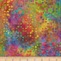 Gypsy Batik Dots Bright Multi