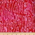 Hollow Ridge Batik Stripe Red