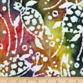 Ocean Grove Batik Swimming Turtles Multi/White