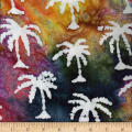 Ocean Grove Batik Small Palm Tree Multi/White