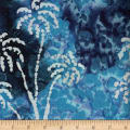 Ocean Grove Batik Large Palm Tree Blue/Multi/White