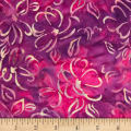 Banyan Batiks Darling Lace Floral Purple/Pink