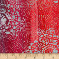 Banyan Batiks Mary Red/Teal
