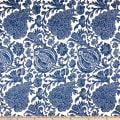 Kravet Hugging Basketweave Blue/White