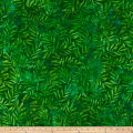 Kaufman Artisan Batik: Color Source Leaves Darker Green
