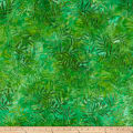 Kaufman Artisan Batik: Color Source Leaves Dark Grass