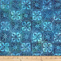 Robert Kaufman Gazebo Batik Square Teal