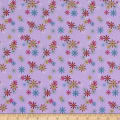 QT Fabrics Party Like A Unicorn Flowers Lilac