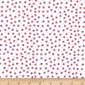 QT Fabrics Party Like A Unicorn Tiny Hearts White