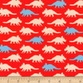 Kaufman Prehistoric Pals Triceratops Red