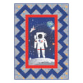 "Riley Blake Designs Out Of This World With NASAOfficial NASA Spaceman 45.5"" x 61.5"" Quilt Kit Multi"