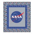 "Riley Blake Designs Out Of This World With NASAOfficial NASA LOGO 59"" x 53"" Quilt Kit Multi"