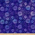 "Wilmington Essentials 108"" Backing Flower Burst Purple"