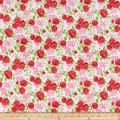 Wilmington Fleurette Rose Garden White/Red
