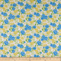 Wilmington Fleurette Rose Garden White/Blue