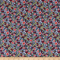 Wilmington Fleurette Mixed Floral Navy