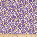 Wilmington Fleurette Ditsy Floral Purple