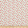 Wilmington Fleurette Tiny Blossoms White/Red