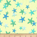 Michael Miller Fabrics Shark Tales Sea of Stars Sea