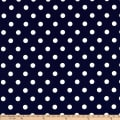 Michael Miller Fabrics That's It Dot Navy