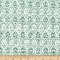 Michael Miller Kashmir Gardens Lattice Mint