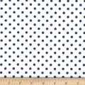 Michael Miller Fabrics Dumb Dot Sailor