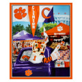 "NCAA Clemson Digital Tailgate Cotton 36"" Panel"