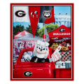 "NCAA Georgia Digital Tailgate Cotton 36"" Panel"