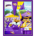 "NCAA Louisiana Digital Tailgate Cotton 36"" Panel"
