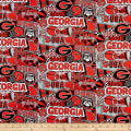 NCAA Georgia Pop Art Cotton