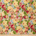 Romantique Digital Print Floral Pink/Yellow