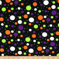Halloween Multidots Black/Multi