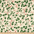 Christmas Folige Green Beige