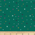 Clothworks Stitch Cats Dot Emerald