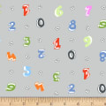 Stof Fabrics Denmark Count On Me Numbers Fresh