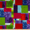 Stof Fabrics Denmark Murano Abstract Blocks Multi