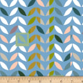 Stof Fabrics Denmark Urban Nature Leaves Grey