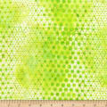 Anthology Batiks Specialty Pop Dots Chartreuse