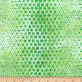 Anthology Batiks Specialty Pop Dots Shamrock