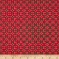 Baltimore House Sewing Circle Geo Red