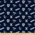 NCAA Xavier Tossed Logo Navy/Grey