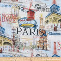 ArtCo Prints Canvas Paris Moulin Multi