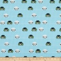 Stof Fabrics Denmark Crafty Critters Sheep Knitting Needles Turquoise