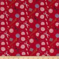 Stof Fabrics Denmark Crafty Critters Yarn Notions Red