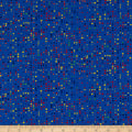 Stof Fabrics Denmark Colour Fun Multicolored Dots Blue