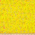 Stof Fabrics Denmark Colour Fun Multicolored Dots Yellow